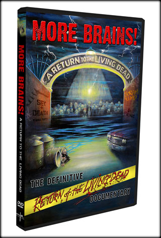"""More Brains! A Return to the Living Dead"" DVD"